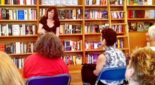Merle Hoffman at Bookhampton on June 30, 2012
